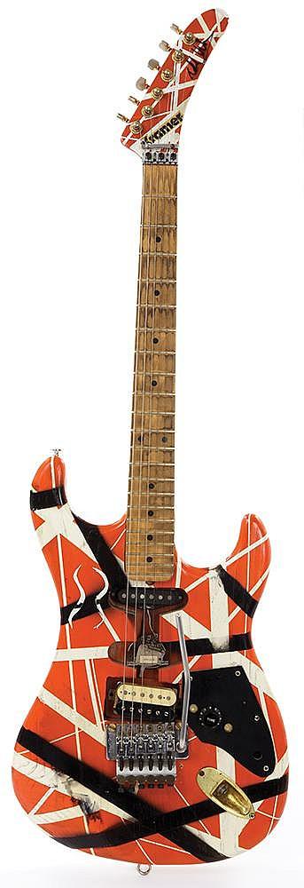 Eddie Van Halen S 1982 Kramer Guitar One Of The First 8 Ic