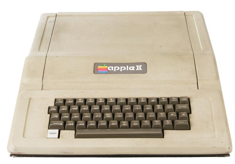 One of the first Apple II computers - serial # A2S1-0082.