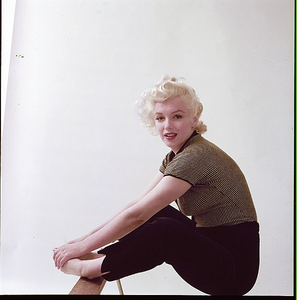 9f9e2fe2f59 4) color camera transparencies of Marilyn Monroe from