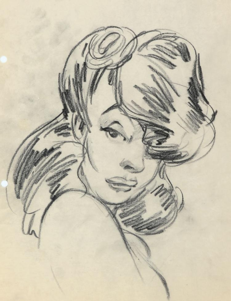 Chuck Jones archive of (33) gag sketches created while at Warner Bros. studios in the early 1940s.