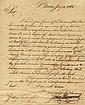 Hancock, John. Letter signed