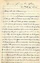 Davis, Jefferson. Autograph letter signed