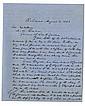Davis, Jefferson. Letter signed