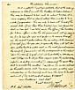 Jefferson, Thomas. Autograph letter signed