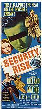 Vintage Crime, Noir and Suspense (17) insert poster collection.