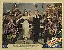 Large vintage general interest (160+) lobby card collection with titles beginning with