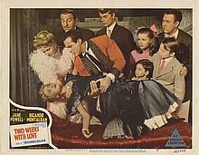 (3) Lobby cards including Three Little Words, Debbie Reynolds' first appearance on a lobby card.