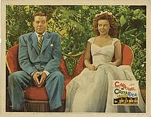 Large vintage general interest (150+) lobby card collection with titles beginning with