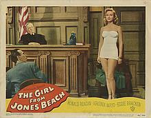Large vintage general interest (100+) lobby card collection with titles beginning with