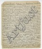 Marx, Karl (Heinrich). Remarkable autograph letter, in English, 2 pages (8 x 6 ¼ in.; 203 x 159 mm.)