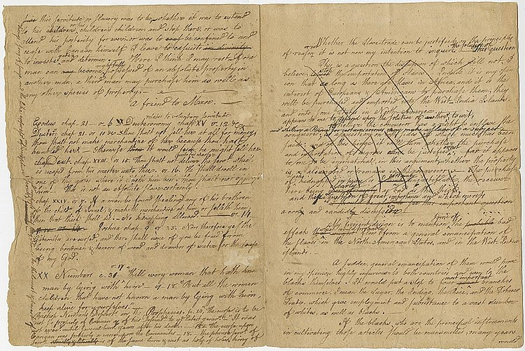 Ellery, William. Autograph manuscript signed , 4 pages (10 ¼ x 7 ¾ in.; 260 x 197 mm.)