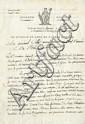 Napoleon I. Letter signed (