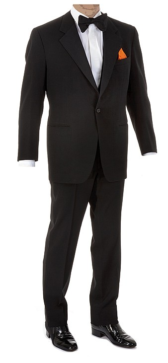 Frank Sinatra personal signature tuxedo.