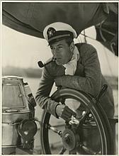 Oversize custom portrait of Gary Cooper by Irving Lippman.