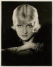 Oversize portrait of Greta Nissen.