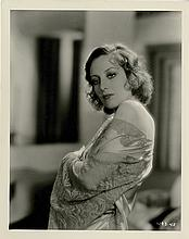(7) vintage photographs of Joan Crawford, Marlene Dietrich, Anna May Wong, & Louise Brooks.