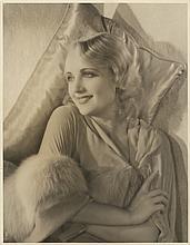 Oversize Carole Lombard portrait by Kenneth Alexander.