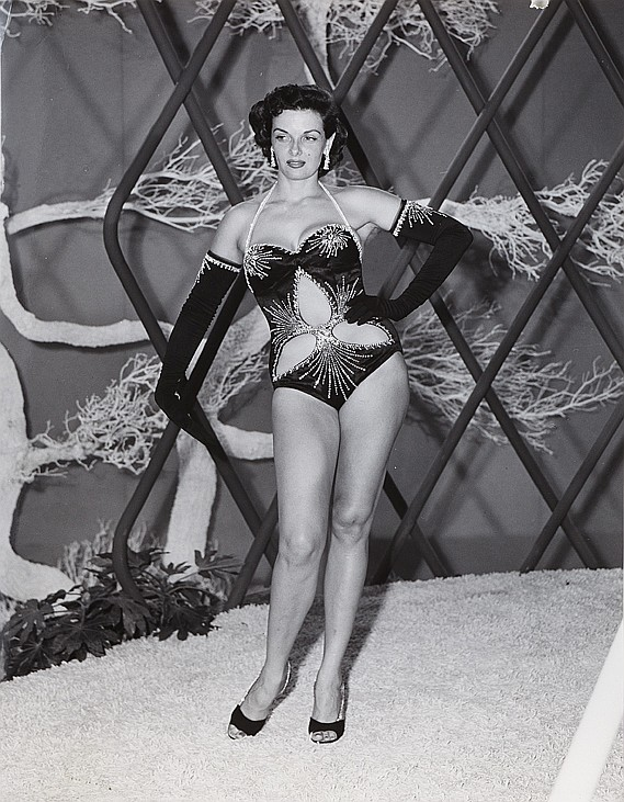 Michael Woulfe Costume Sketch Of Jane Russell As Quot Mame Carso