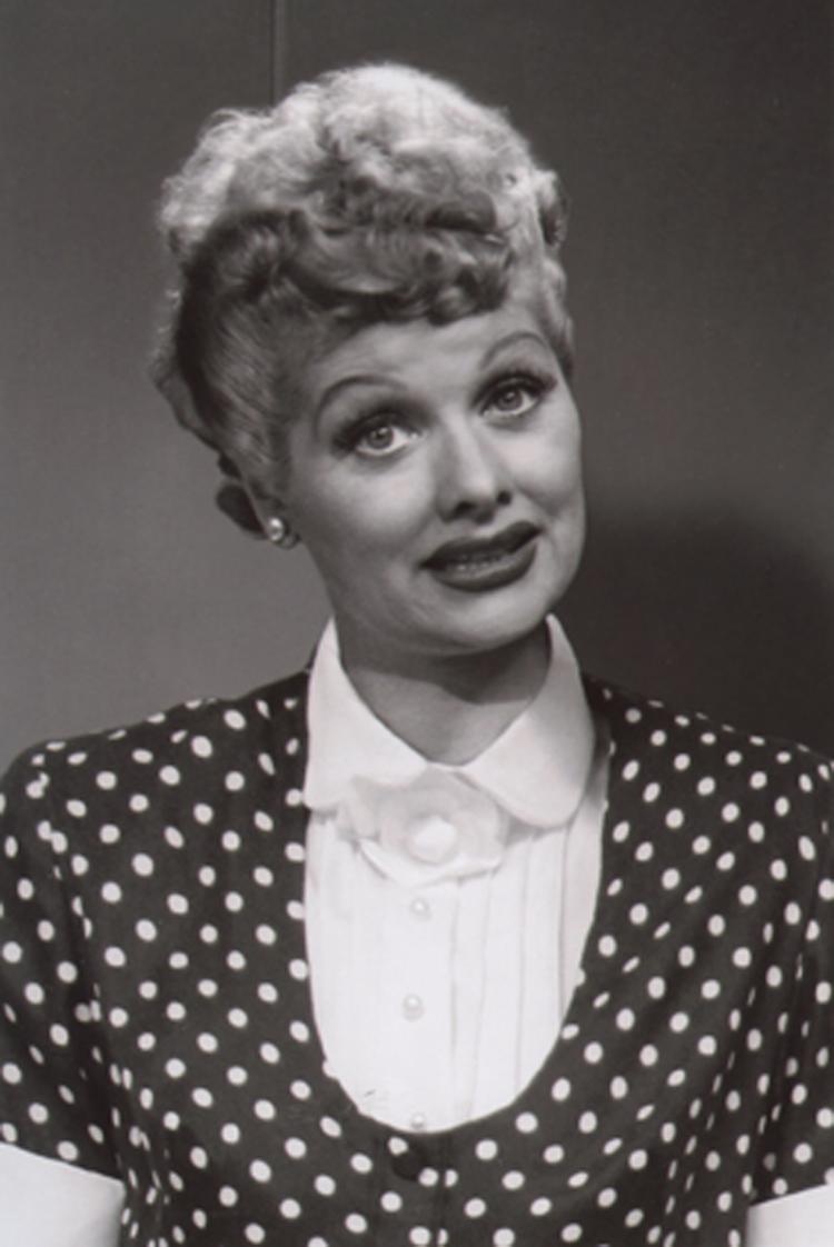 Lucille Ball Signature Lucy Ricardo Polka Dot Dress Design