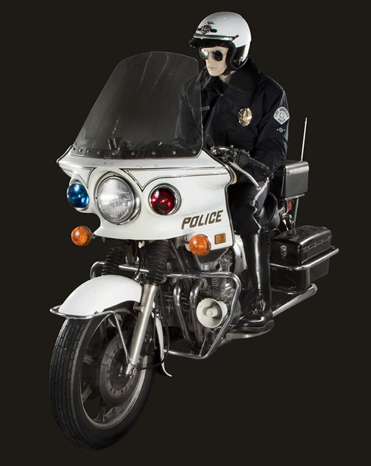 terminator 2 judgment day t 1000 police kawasaki motorcycle. Black Bedroom Furniture Sets. Home Design Ideas