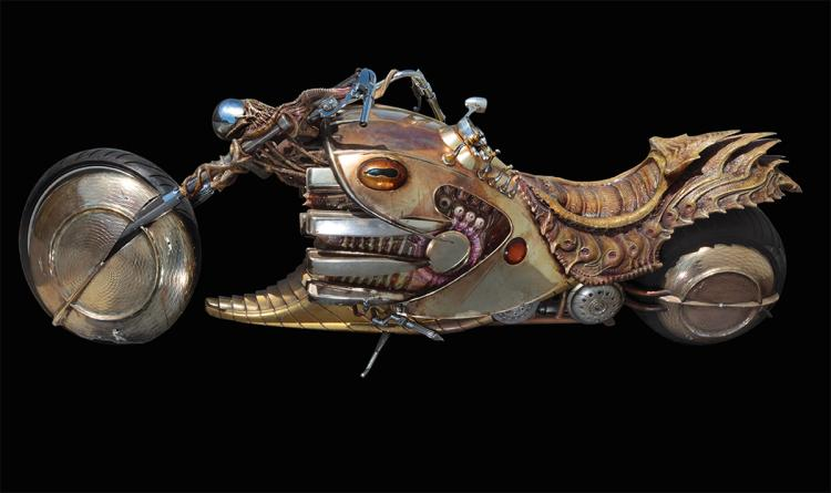 "Jemaine Clement ""Boris the Animal"" motorcycle from Men in Bl"