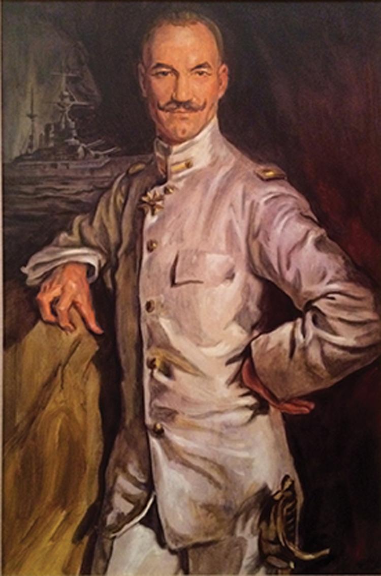 Patrick Stewart Jean-Luc Picard Nexus ancestor painting with