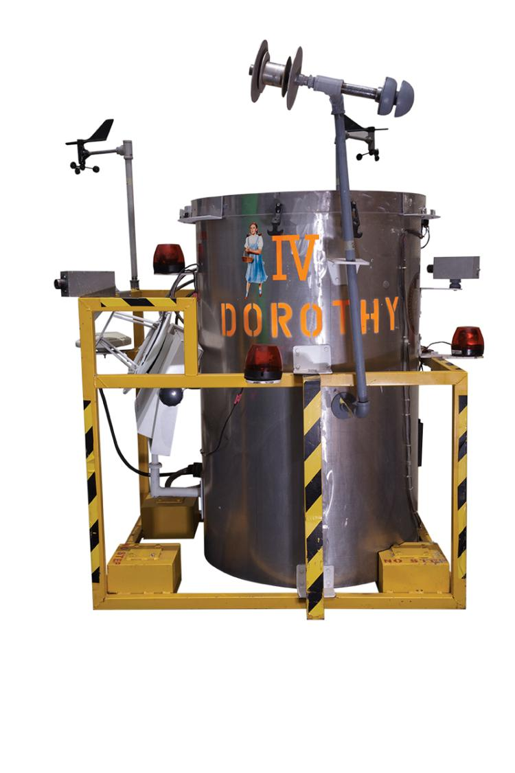 """Dorothy IV"" storm chasing prop created for Twister."
