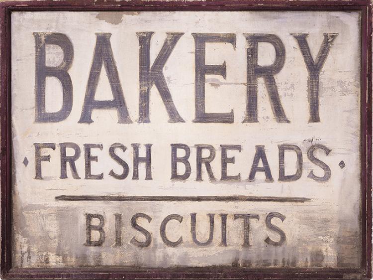 """Mellark"" bakery sign seen in  The Hunger Games ."