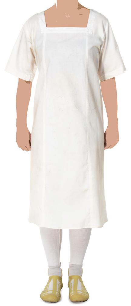 "Katniss Everdeen"" hospital gown from The Hunger Games: Mock"