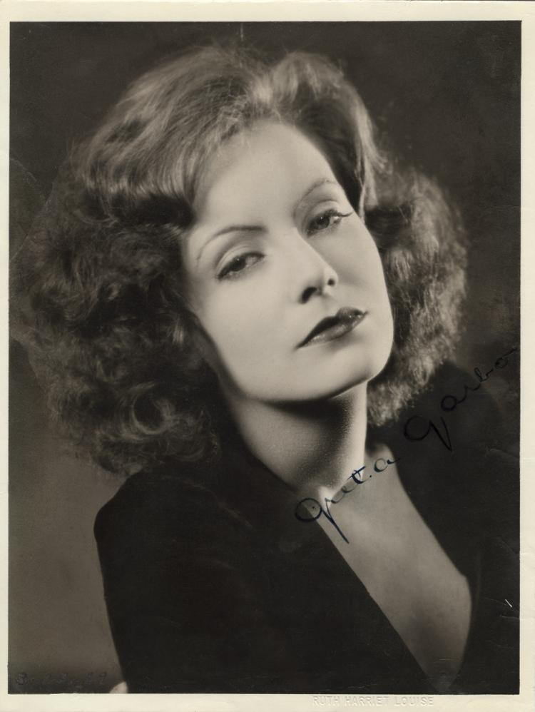 Sold Price: Greta Garbo excessively rare signed oversize photograph and  correspondence. - June 1, 0117 11:00 AM PDTInvaluable.com