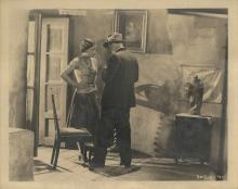 The Unknown (4) behind the scenes photographs featuring director Tod Browning.