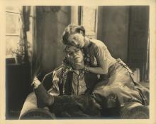 The Unknown (4) custom photographs with Joan Crawford and Lon Chaney, Sr.