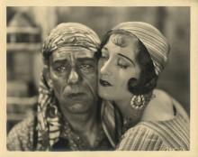 The Unknown (4) custom photographs of Joan Crawford and Lon Chaney, Sr.