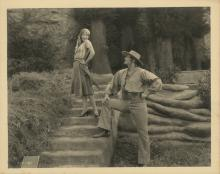 The Unknown (8) custom photographs of Joan Crawford and Lon Chaney, Sr.