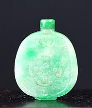 JADEITE SNUFF BOTTLE