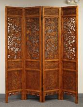 CAMPHORWOOD FOLDING SCREEN