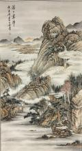 SCROLL PAINTING ON PAPER,  ATTRIBUTED TO HUANG JUN-BI