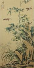 SCROLL PAINTING ON PAPER, ATTRIBUTED TO CHEN PEI QIU