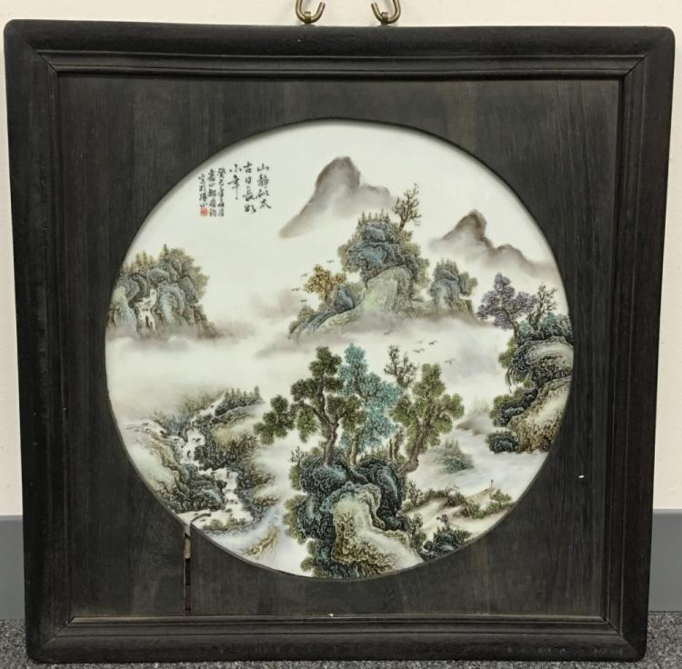 PORCELAIN PLATE PAINTING