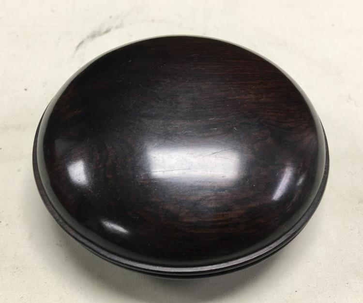 GOLDEN EBONY WOOD COVERED BOX