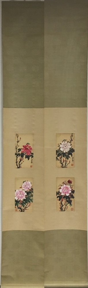 PAIR OF SCROLL PAINTINGS ON PAPER, ATTRIBUTED TO ZHAO SHAO ANG