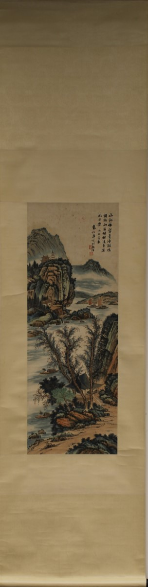 SCROLL PAINTING ON PAPER, ATTRIBUTED TO YUAN SONG NIAN