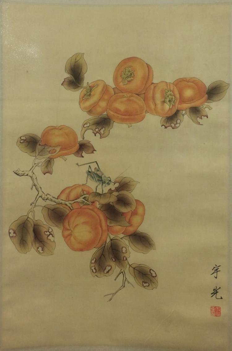 SCROLL PAINTING ON PAPER, ATTRIBUTED TO SU YU GUANG
