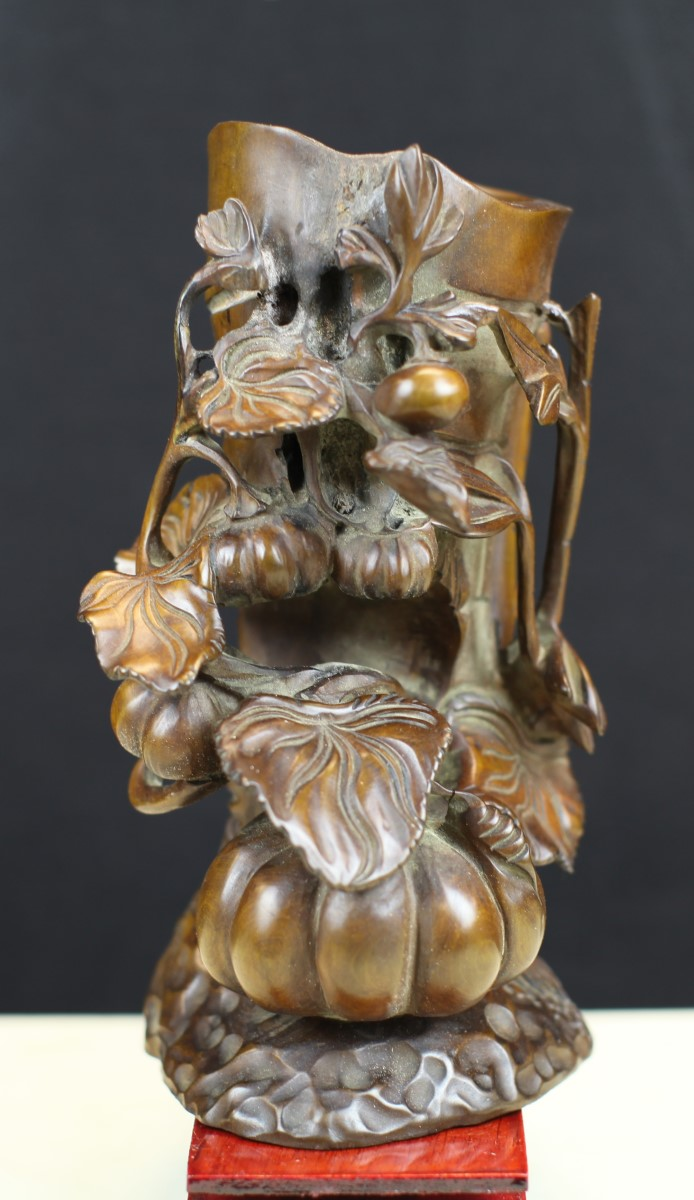 Boxwood carving