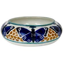 Rorstrand of Sweden Jugendstil Butterfly Low Bowl by Alf Wallander