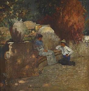 Achtenhagen, August (1865 Berlin - 1938 Potsdam)