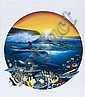 Wyland, Robert. (Am. b. 1956). Signed and numbered in gold pen., Robert Wyland, Click for value