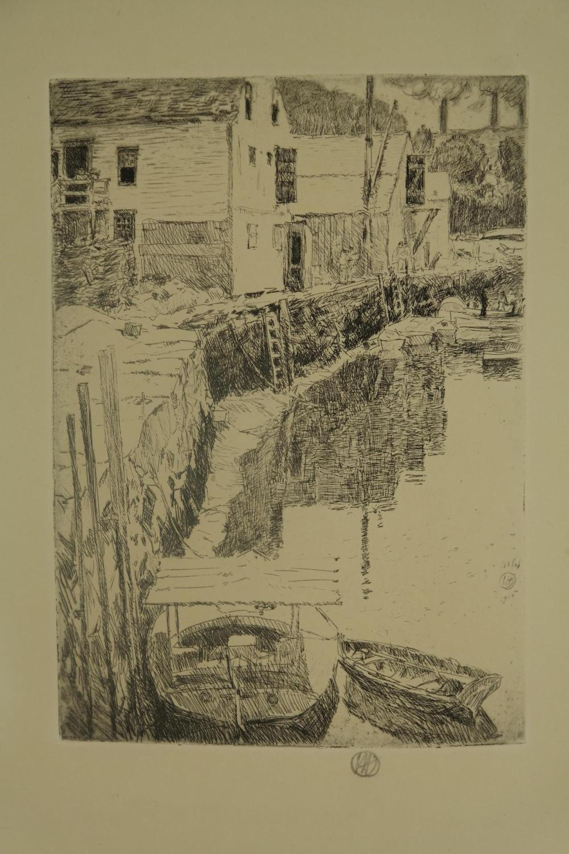 Lot 402: 3 vols. Catalogue Raisonnes. Incl: Pennell. Hassam