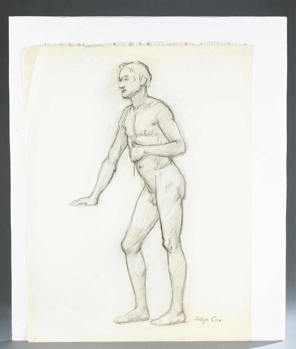 Lot 266: Cox. U.S. Capitol. Founding Fathers. Sketches.