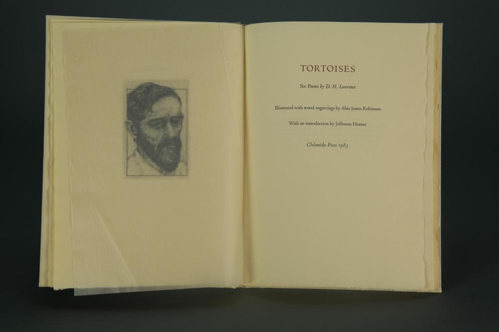 Lot 203: Lawrence. Robinson. Tortoises. 1983. Sgd by artist